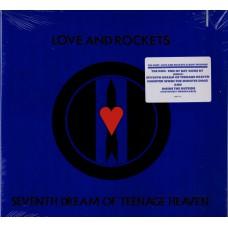 LOVE AND ROCKETS Seventh Dream Of Teenage Heaven (Beggar's Banquet 8507-1) USA 1985 LP