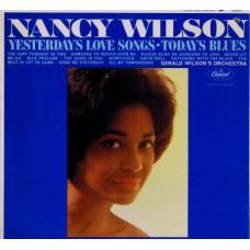 NANCY WILSON Yesterday's Love Songs Today's Blues (Capitol T2012) USA 1963 original mono LP