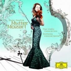 MOZART Anne Sophie Mutter Violin Concertos 2 CD's