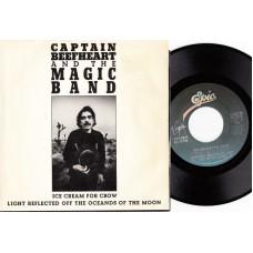CAPTAIN BEEFHEART Ice Cream For Crow (Epic) USA 1982 PS 45