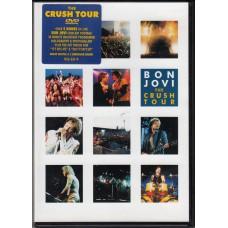 BON JOVI The Crush Tour (Mercury) 2000 UK DVD