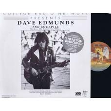DAVE EDMUNDS and ROCKPILE 30 Minute Radio Program (Atlantic) USA LP