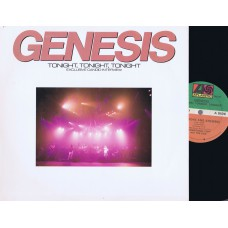 GENESIS Tonight Tonight Tonight (Atlantic PR 965) USA 1986 Promo Only LP