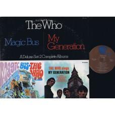 WHO,THE Magic Bus / My Generation (MCA 2-4068) USA 1973 2LP-Set