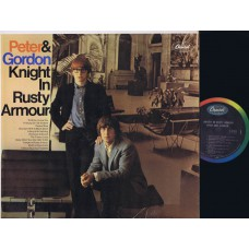 PETER AND GORDON Knight In Rusty Armour (Capitol T 2729) USA 1967 Mono LP