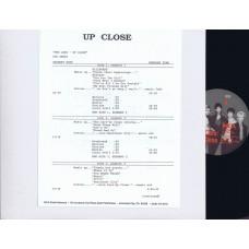 CARS Up Close (MCA Radio Network) USA 1987 2LP