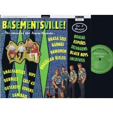 Various BASEMENTVILLE! BRAZIL #2 (Misty Lane) Italy LP