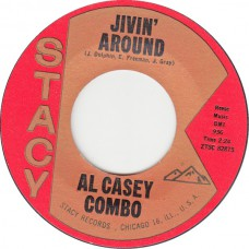 Stacy 936 AL CASEY COMBO Jivin Around USA 1962 45 (Hazlewood)