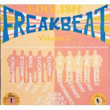 Various ENGLISH FREAKBEAT VOL.2 (AIP 10047) USA 1989 LP