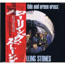 ROLLING STONES Big Hits High Tide (London LAX 1007) Japan 1976 LP + OBI