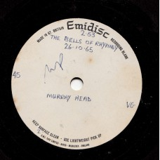 MURRAY HEAD The Bells Of Rhymney (Emidisc Acetate) UK 7