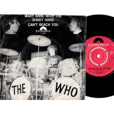WHO,THE Mar Anne With The Shaky Hand (Polydor) Holland 1967PS 45