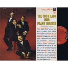 FOUR LADS Sing Frank Loesser (Columbia) USA 1957 LP