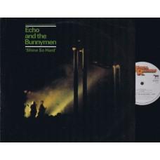 ECHO AND THE BUNNYMEN Shine So Hard (Korova) UK 1981 Live 12