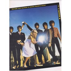 BLONDIE Picture This (Words Images and Music) 1979 Sheet Music