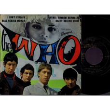 WHO,THE I Can't Explain +3 (Brunswick) France 1965 PS EP (Missprint)