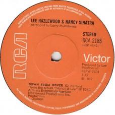 LEE HAZLEWOOD AND NANCY SINATRA Big Red Balloon (RCA) UK 1972 45