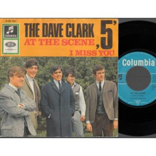 DAVE CLARK FIVE At The Scene (Columbia) Germany 1966 PS 45