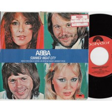 ABBA Summer Night City / Medley: Pick A Bale Of Cotton*On Top Of Old Smokey*Midnight Special (Polydor 2344098) Germany 1978 PS 45