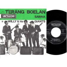 WILLY AND HIS GIANTS Terang Boelan (Artone) Holland PS 45