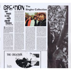 CREATION The Singles Collection (Get Back) Italy Sealed LP