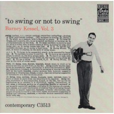 BARNEY KESSEL To Swing Or Not To Swing Vol.3 (Mikulski) Germany