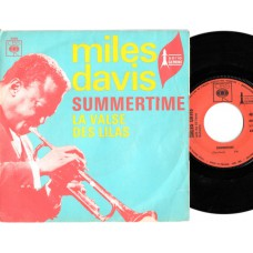 MILES DAVIS Summertime (CBS) French PS 45