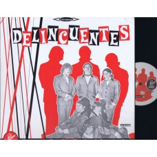 Various DELINCUENTES (Martian) France 2001 LP