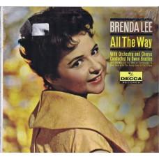 BRENDA LEE All The Way (Decca) USA 1961 Mono LP