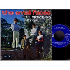 SMALL FACES All Or Nothing +3 (Decca) French 1966 PS EP