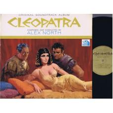 CLEOPATRA by Alex North Soundtrack (20th Century Fox) USA 1963 L