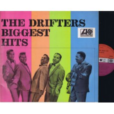 DRIFTERS Biggest Hits (Atlantic) UK 1966 Mono LP