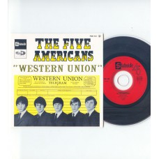 FIVE AMERICANS Western Union +3 (Stateside) French EP CD