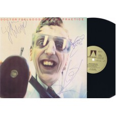 DOCTOR FEELGOOD Private Practice (Autographed) Germany 1978 LP