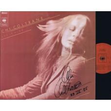 CHI COLTRANE Let It Ride (CBS) Holland 1973 Autographed LP