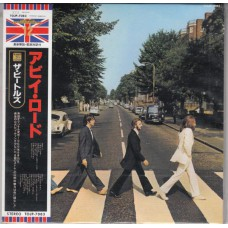 BEATLES Abbey Road (Apple) Japan Mini-LP CD