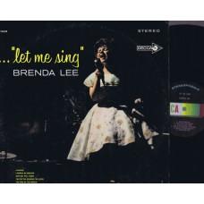 BRENDA LEE Let Me Sing (Decca) USA 1963 LP