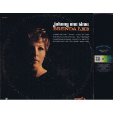 BRENDA LEE Johnny One Time (Decca DL 74111) USA 1969 LP