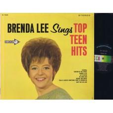 BRENDA LEE Sings Top Teen Hits (Decca) USA 1965 LP