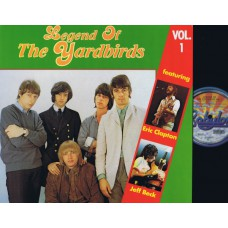 YARDBIRDS Legend Of.. Vol.1 (Babylon Budget) Holland LP