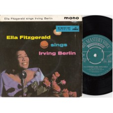 ELLA FITZGERALD Sings Irving Berlin EP (His Masters Voice 7EG 8563) UK 1958 PS EP