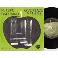 Apple 90372 PLASTIC ONO BAND Give Peace A Chance Holland PS 45
