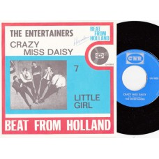 ENTERTAINERS Crazy Miss Daisy (CNR) Holland 1966 PS 45