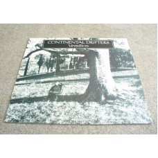 CONTINENTAL DRIFTERS Vermillion (Blue Rose) Germany LP