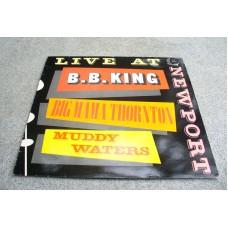 B.B. KING - BIG MAMA THORNTON - MUDDY WATERS live LP