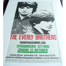 EVERLY BROTHERS - Netherlands, Sittard, Stadschouwburg Oct. 15 1972