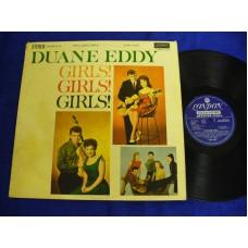 DUANE EDDY Girls! Girls! Girls! (London) UK 1961 Stereo LP