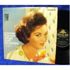 CONNIE FRANCIS Sings Irish Favourites (MGM) USA 1962 LP