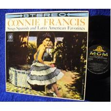 CONNIE FRANCIS Sings Spanish.. (MGM) USA 1960 LP