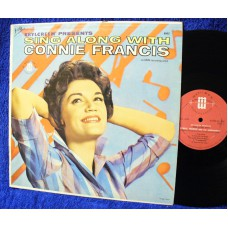 CONNIE FRANCIS Sing Along With (Mati-Mor / MGM) USA 1961 LP
